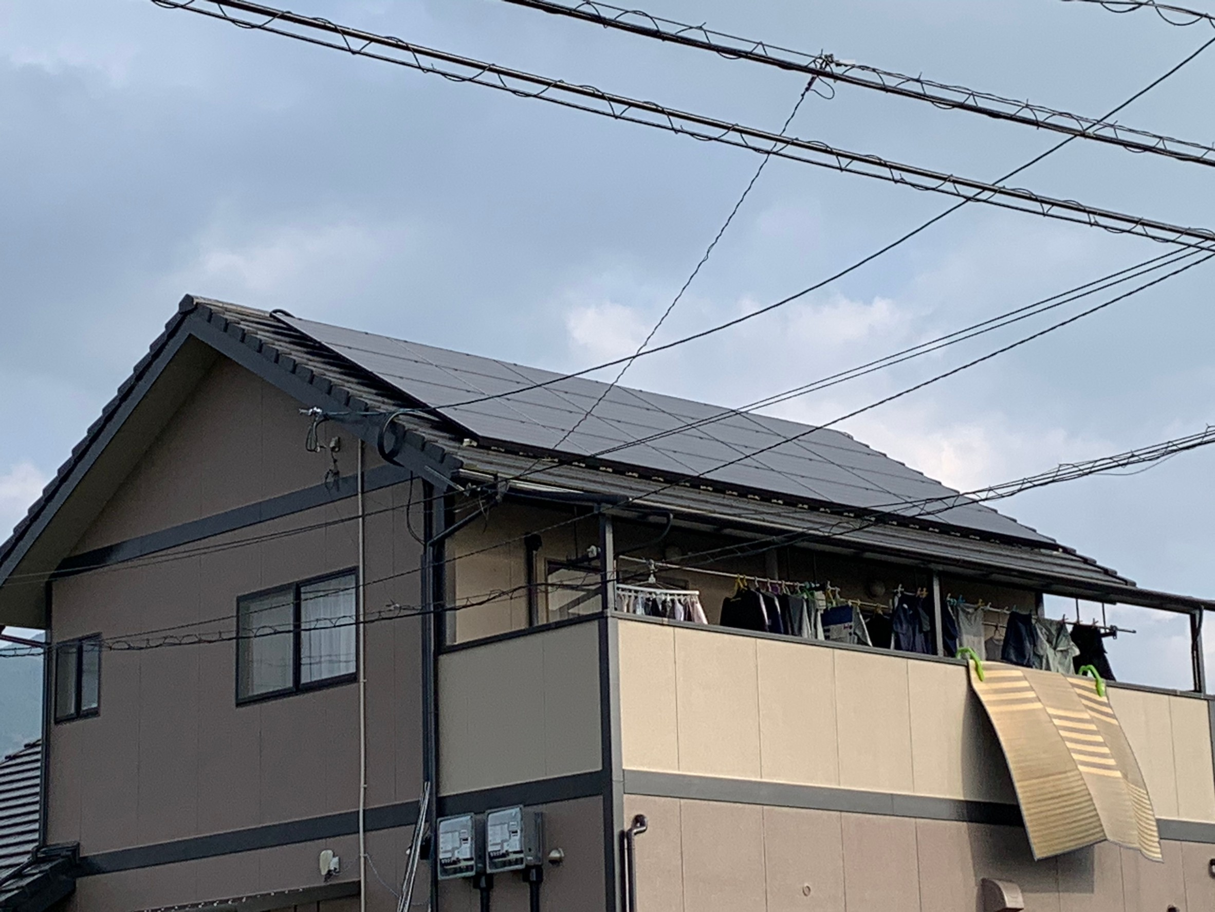 大洲市 S様 カナディアンソーラー 9.72KW + エコキュート (2020/12/11)